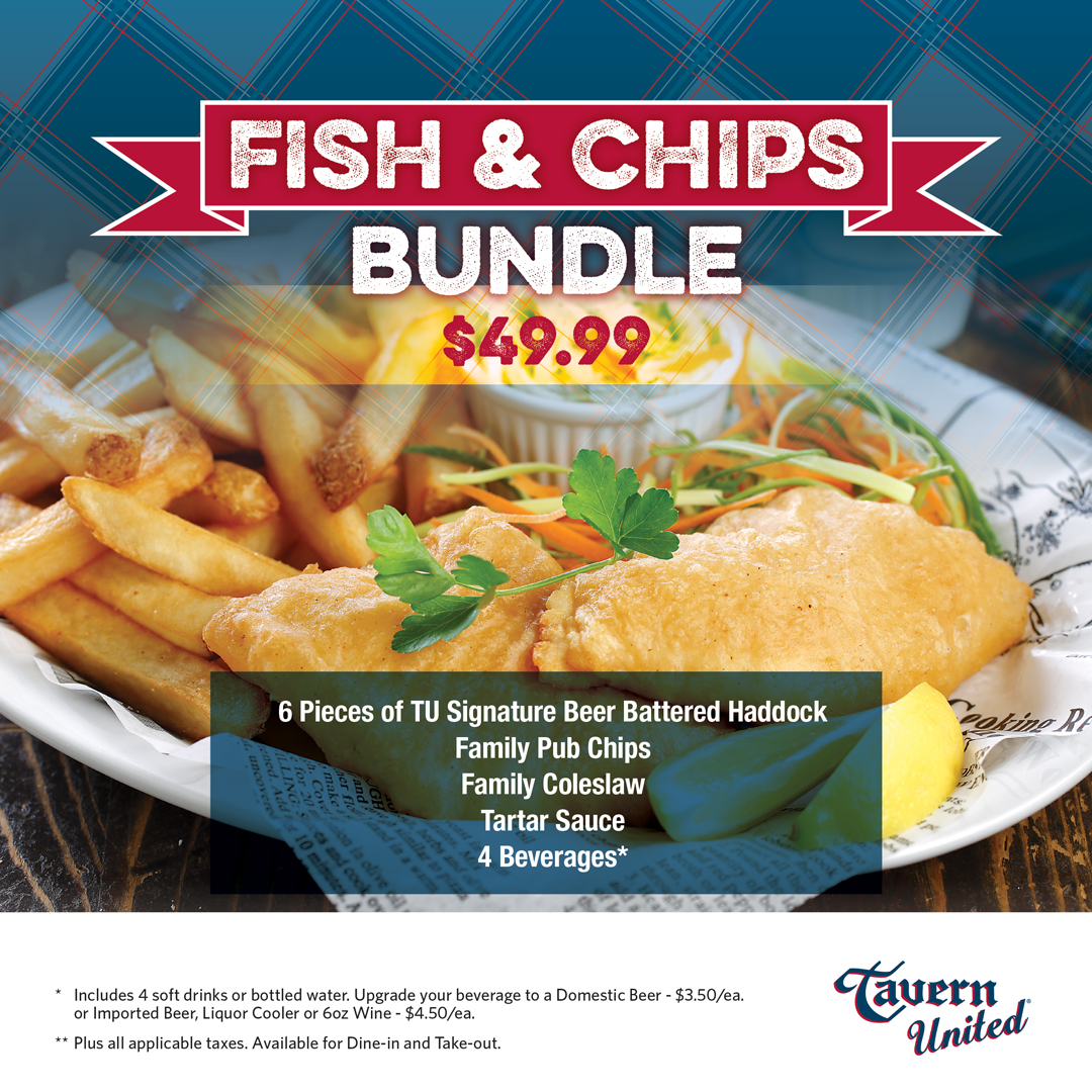 Tavern United Fish & Chips Bundle Updated April 2021