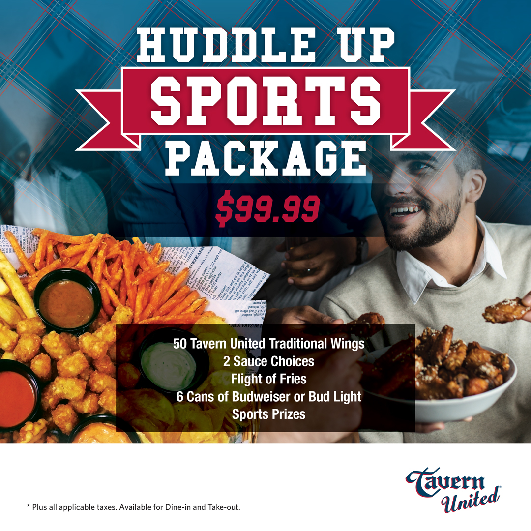 Tavern United Huddle Up Sports Bundle Updated April 2021